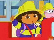 Dora the explorer Firefighter Dora and Boots2