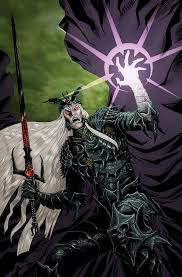 Elric casting a spell