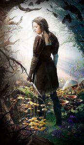 Kristen Stewart as Snow-White in Snow-White and the Huntsman