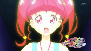 STPC17 Hikaru's eyes widen in amazement