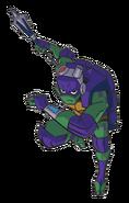 Transparent Donatello