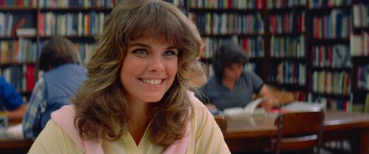 Alexandra Paul as Leigh Cabot in Christine 1