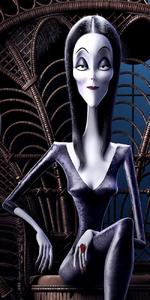Morticia Addams 2019
