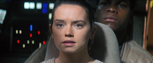 Rey sees a green planet - TFA