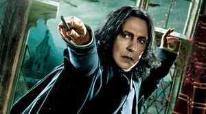 Severus Snape in Deathly Hallows
