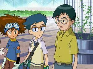 Taichi, Joe and Shin
