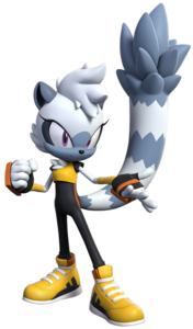 Tangle the Lemur (Sonic Forces - Speed Battle)