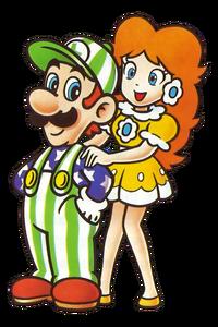Luigi and Daisy NES Open Tournament Golf