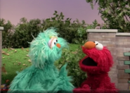 Rosita and Elmo at the park