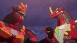 Drago and Behemos meet again