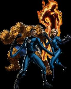 Fantastic Four (Earth-TRN259) 001
