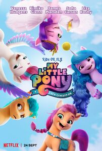 My Little Pony A New Generation 'Ride or Fly' poster
