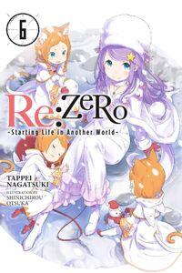 ReZero Light Novel Volume 6 Cover