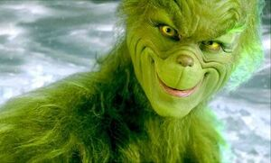 The Grinch (2000) grin