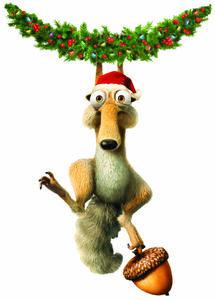 Scrat Christmas