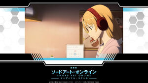 Yande.re 387715 asuna (sword art online) headphones sword art online wallpaper