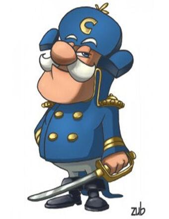 Cap'n Crunch | Heroes Wiki | Fandom