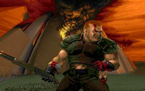 Doom guy daisy
