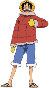 Luffy Movie 9 Outfit