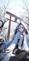 Yande.re 658561 hatsune miku japanese clothes mossi thighhighs vocaloid yuki miku