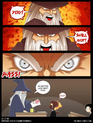 You Shall Not Pass by g o