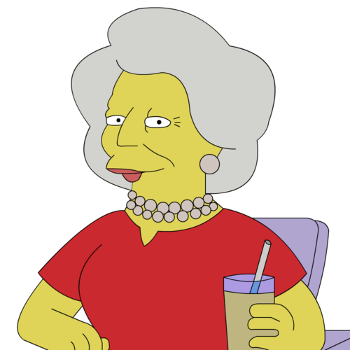 Barbara Bush (The Simpsons)