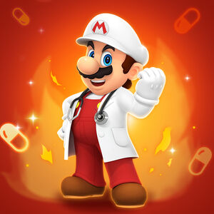 DrMarioWorld Fire Mario