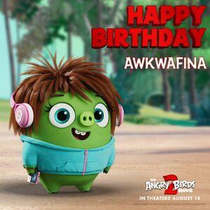 Happy Birthday, Awkwafina (Courtney - ABM2)