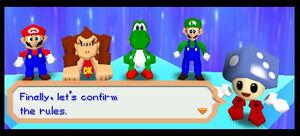 Mario Party 3 mario luigi yoshi dk and tumble