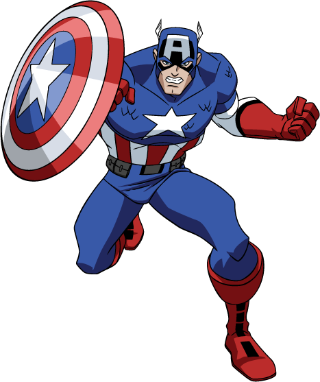 Captain America (The Avengers: Earth's Mightiest Heroes)