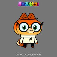 Dr. Fox concept art 3