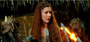 Leia Ewok dress