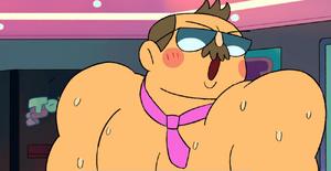 Mr. Gar blushes