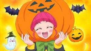 STPC37 Hikaru as a pumpkin