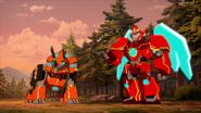 Tricerashot with Buzzstrike