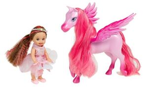 Barbie and the Magic of Pegasus Cloud Princess Rose Doll