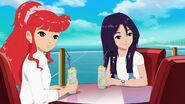 Cleo with Rikki