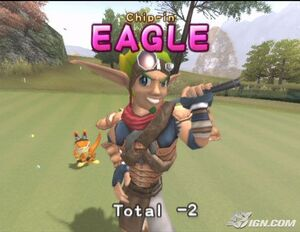 Jak in Hot Shots Golf Fore!