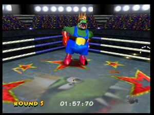 Donkey Kong 64 tiny vs krool