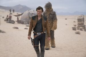 Solo Han Chewie