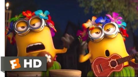 Despicable Me 3 (2017) - A Minion Luau Scene (2 10) Movieclips