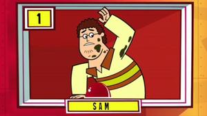 Sam Competing