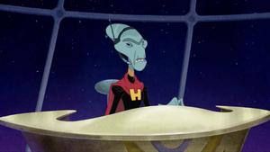 Grand Councilwoman as Hamsterviel's henchwoman