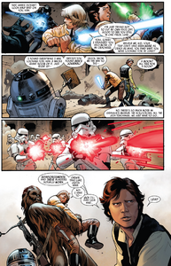 Han-solo-princess-leia-and-chewbacca-wielding-lightsabers-3