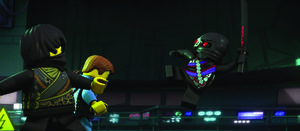 Jay and Cole Vs. Min-Droid