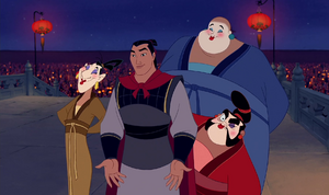 Shang, Yao, Ling and Chien Po