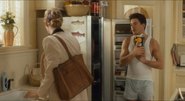 Chances Are Alex Finch (Robert Downey Jr) talking with Corinne Jeffries (Cybill Shepherd) before she knows he is Louie