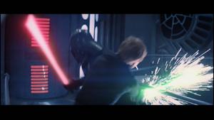 Darth Vader dodging