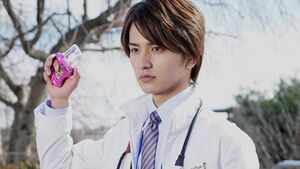 Ex-Aid Hiiro using Mighty Action X