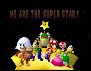 Mario party 64 all characters in the ending